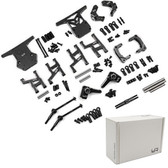 Yeah Racing TAWR-S02BK Aluminum Performance Upgrade Kit : Tamiya WR02CB Black