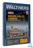 Walthers 933-3018 Golden Valley Canning Company Kit : HO Scale