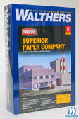 Walthers 933-3237 Superior Paper Company Kit : N Scale