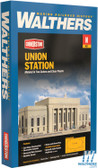 "Walthers 933-3257 Union Station Kit - 16 x 6 x 5-1/2"" : N Scale"