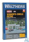 "Walthers 933-3479 Winner's Circle Petro Kit - 4 x 6 x 2-1/16"" : HO Scale"