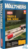 Walthers 933-4068 Truck & Rail Scale Kit : HO Scale