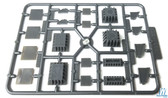 Walthers 933-4559 Bridge Shoes and Adapters Assortment Kit : HO Scale