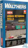 Walthers 933-4562 Urban Retaining Walls Kit : HO Scale