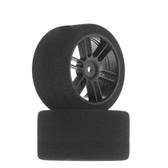 BSR Racing 1/10 45mm Touring 30 Drag Diameter Tires Black (2) F4530D