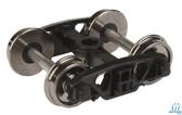 "Walthers 920-2003 Andrews Rigid Trucks w/33"" Metal Wheels & Axles (2) HO Scale"