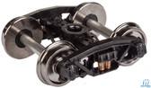 "Walthers 920-2004 Andrews Sprung Trucks w/33"" Metal Wheels & Axles (2) HO Scale"
