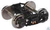 "Walthers 920-2005 Diamond Arch Bar Sprung Trucks w/33"" Metal Wheels & Axles (2) HO Scale"