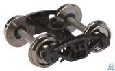 "Walthers 920-2009 Rigid Trucks w/33"" Metal Wheels & Axles Bettendorf (2) HO Scale"