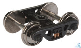 """Walthers 920-2010 Sprung Trucks w/36"""" Metal Wheels & Axles 100-Ton ASF Roller Bearing  HO Scale"""
