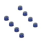 Tuning Haus TUH1062  3mm Aluminum Locknut (8) Dark Blue