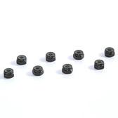 Tuning Haus TUH1066 4mm Aluminum Locknut (8) Black