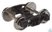 "Walthers 920-2000 Rigid Trucks w/33"" Metal Wheels & Axles 50-Ton Spring (2) HO Scale"