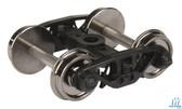 "Walthers 920-2001 Rigid Trucks w/33"" Metal Wheels & Axles National B-1 (2) HO Scale"