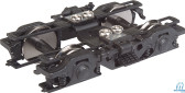Walthers 920-2120 GSC 43-R Passenger Trucks Metal Wheels Black (2) HO Scale