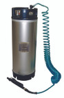 5 Gallon Stainless Steel Sprayer with 25' Coiled Hose