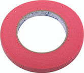 "3/8"" RED WINDOW FILM TAPE"