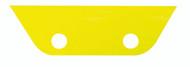 TAIL FIN SQUEEGEE - YELLOW - MEDIUM/HARD