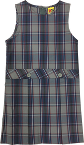 Plaid 53 Drop Waist Jumper