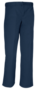 Navy Flat Front Pant