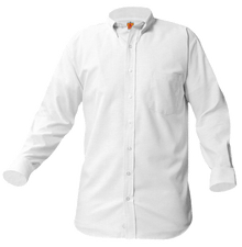 Long Sleeve White Oxford