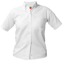 Girl's and Ladies Oxford Short Sleeve (1035)