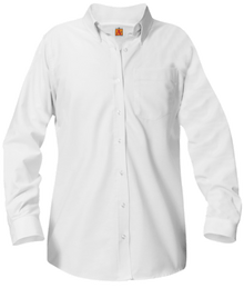 Girl's and Ladies Oxford Long Sleeve (1035)