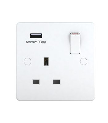 UK WALL SOCKET WITH USB