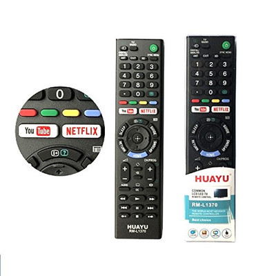 RM-L1370 Universal remote control for SONY tv. 3D BUTTON