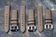 Italian Shield Buckle Straps Handcrafted in Italy