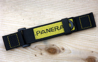Panerai OEM Velcro Dive Strap Yellow Embroidery Extra Long $250 USD
