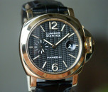 Panerai PAM 140 Luminor Marina Carbon Fiber Dial Yellow Gold 44mm