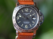 Panerai PAM 29 A Luminor Marina GMT Tuxedo Dial T Swiss T Dial