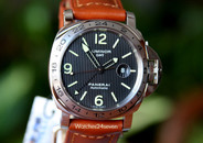 Panerai PAM 29 M Luminor Marina GMT Tuxedo Dial LTD