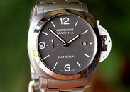 Panerai PAM 352 Luminor Marina 3days Auto titanium 1950 case on bracelet 44mm