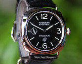 Panerai PAM 380 Radiomir Stainless Steel Black Seal Logo Dial 45mm ON HOLD
