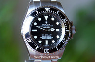 Rolex Deepsea Sea-Dweller Stainless Steel Black Dial 44mm
