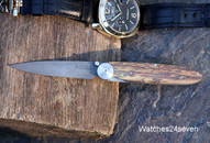 Kansei Damascus Mammoth Ivory Big Joint Folder SOLD