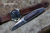 Corrie Schoeman Raindrop Damascus Banksia Cone Pocket Flipper Folder