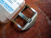 Panerai OEM Polished SS Tang Buckle 22 mm