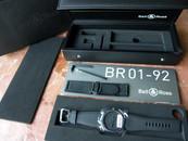 Bell & Ross BR01-92 Phantom Instrument Panel Watch