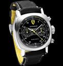 Panerai Ferrari FER 08 Scuderia Chronograph Black & Grey Dial yellow logo
