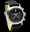 Panerai Ferrari FER 10 Scuderia Rattrapante Black & Grey dashboard style dial