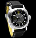 Panerai Ferrari FER 09 Scuderia GMT Black Dial