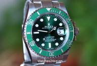 """Rolex Submariner Green Dial & Bezel """"HULK"""" Ref. 116610V"""