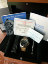 Panerai PAM 23 B GMT with Rolex style engraved numbered bezel 44 mm