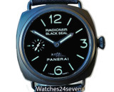 Panerai PAM 292 J Radiomir Ceramic Black Seal with Pig Logo 45mm
