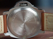 Panerai PAM 55 Base Model Titanium with tobacco dial in 44 mm $7