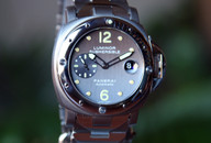 Panerai PAM 170 Submersible  Anthracite Dial On Bracelet, 44 mm