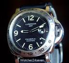 Panerai PAM 23 A GMT w T dial & Explore Style Bezel: Now $8